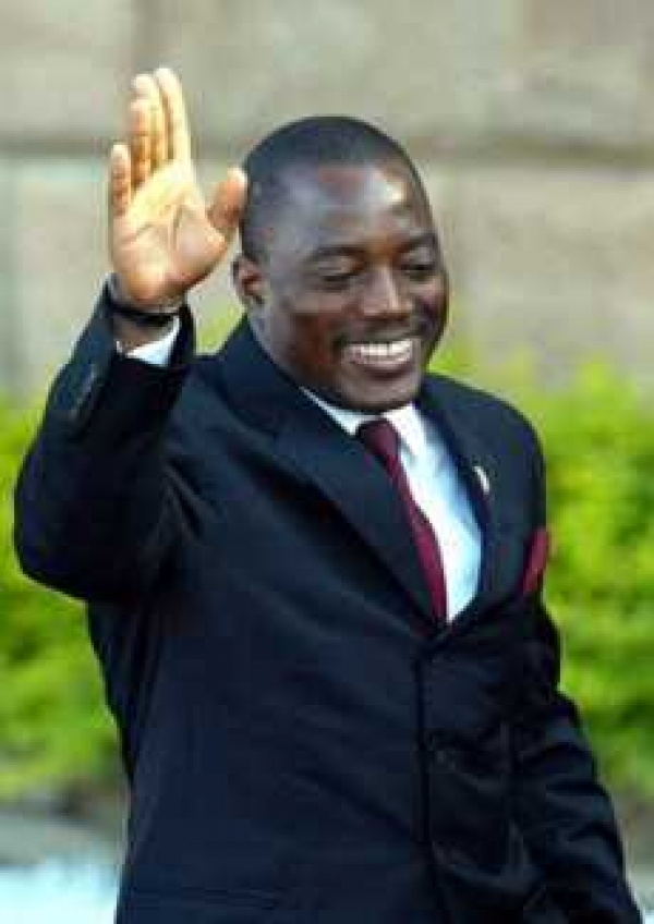 Prez Kabila Rules Out 3rd Term Bid