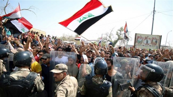 Iraqis protest at Siba gas field amid growing unrest