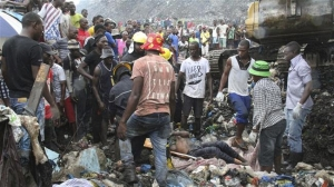 17 killed in garbage dump collapse in Mozambique's capital