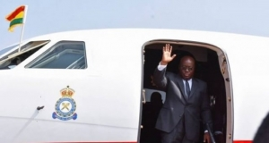 Akufo-Addo jets off to Nigeria for conference on 'Transformative Governance in Africa'