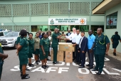 NGO Donates To GIS Clinic