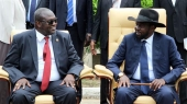 South Sudan president, rebel leader in Ethiopia for talks
