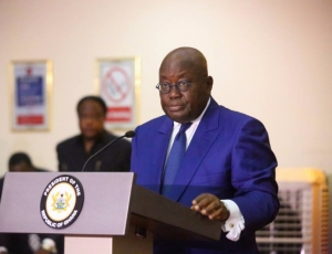 President Akufo Addo Visits Washington National Cathedral