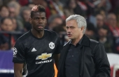 Jose Mourinho reminded Paul Pogba of defensive free-kick duties during Manchester United's draw with Sevilla