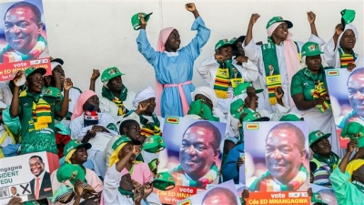 Zanu-PF wins most parliamentary seats in post-Mugabe Zimbabwe