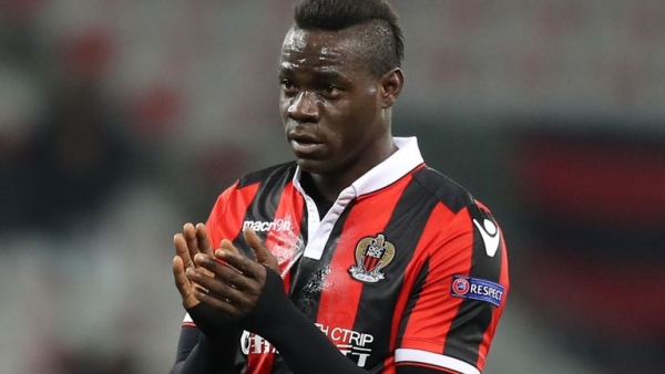 Mario Balotelli says Patrick Vieira persuaded him to stay at Nice