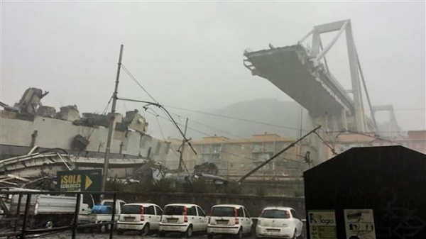 Italy to probe bridge collapse, death toll hits 38